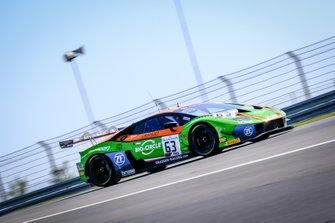 #63 GRT Grasser Racing Team Lamborghini Huracan GT3 Evo: Christian Engelhart, Mirko Bortolotti