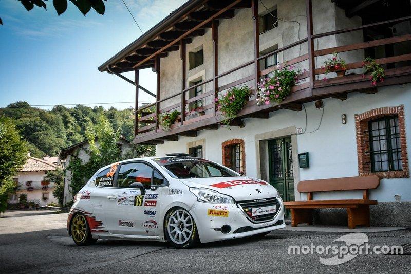 Alessandro Casella, David Arlotta, Peugeot 208, CST