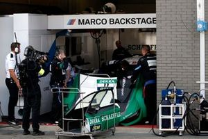 Marco Wittmann, BMW Team RMG, BMW M4 DTM con problemas técnicos
