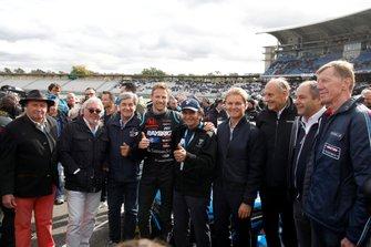 Jochen Mass, Keke Rosberg, Christian Geistdörfer, Jenson Button, Team Kunimitsu Honda, Nico Rosberg, Hans-Joachim Stuck, Gerhard Berger, ITR Chairman, Walter Röhrl