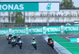 Lorenzo Dalla Porta, Leopard Racing, Albert Arenas, Ángel Nieto Team, Alonso Lopez, Estrella Galicia 0,0