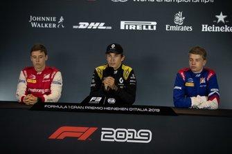 Christian Lundgaard, ART Grand Prix Marcus Armstrong, PREMA Racing and Robert Shwartzman, PREMA Racing