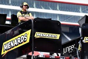 Brandon Jones, Joe Gibbs Racing, Toyota Supra Menards/SoleusAir Jeff Meendering