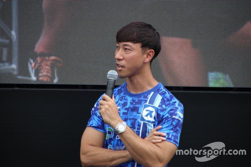 石浦宏明(#11 Planex SmaCam Racing)