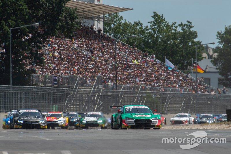 Norisring (Sa): Müller will es jetzt wissen und holt sich die Pole. Im Rennen wird er aber nur Zweiter hinter Rast. Der hatte sein Auto am Start noch abgewürgt, hat es aber mit Safety-Car-Glück wieder nach vorne geschafft. Wittmann wird beim Heimrennen nur Achter. Stand: RAS (119), MÜL (97), WIT (72)
