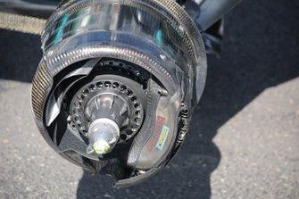 Mercedes F1 AMG W10. brake