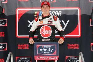 Christopher Bell, Joe Gibbs Racing, Toyota Supra Rheem pole award