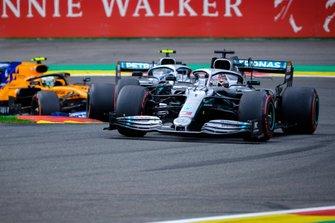 Lewis Hamilton, Mercedes AMG F1, Valtteri Bottas, Mercedes AMG F1 , Lando Norris, McLaren MCL34