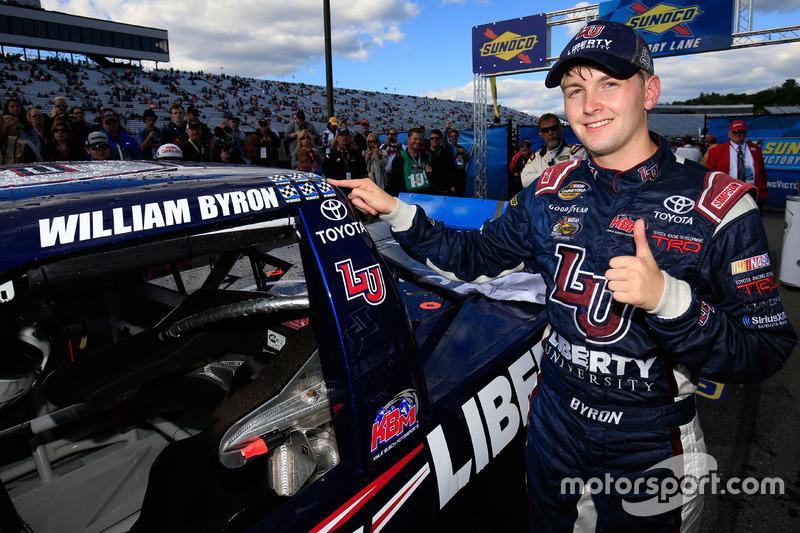 E William Byron ganhou pela sexta vez em 2016 na Truck Series.