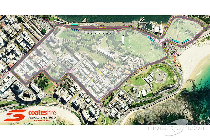 Entwurf: Möglicher Stadtkurs in Newcastle