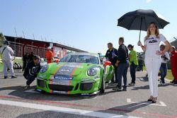 Mattia Drudi, Dinamic Motorsport - Modena sulla griglia di partenza