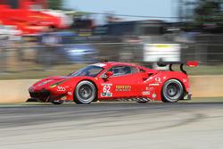 #62 Risi Competizione Ferrari 488 GTE: Тони Виландер, Джанкарло Физикелла, Джеймс Каладо