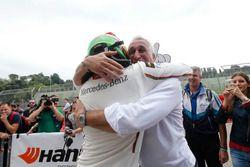 The new champion Lance Stroll, Prema Powerteam Dallara F312 – Mercedes-Benz with his fahter