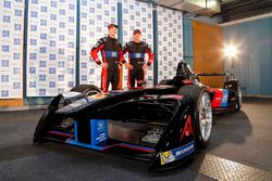 Maro Engel and Stephane Sarrazin, Venturi Formula E Team