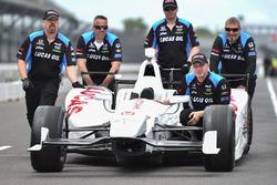 El auto de Oriol Servia, Schmidt Peterson Motorsports Honda
