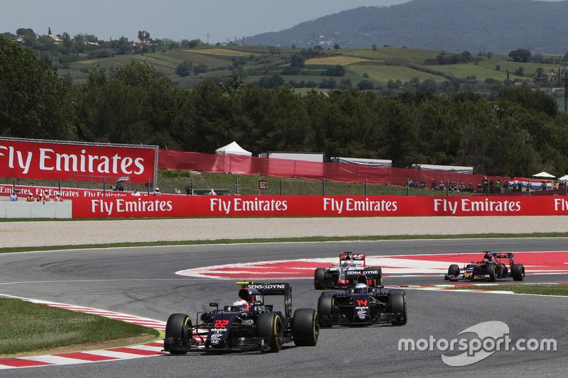 Jenson Button não largou entre os dez primeiros, mas lá terminou: nona posição para o britânico.