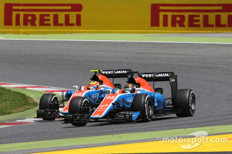 Pascal Wehrlein, Manor Racing et Rio Haryanto, Manor Racing