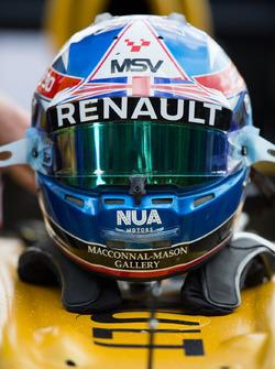 Jolyon Palmer Renault F1 Helmet