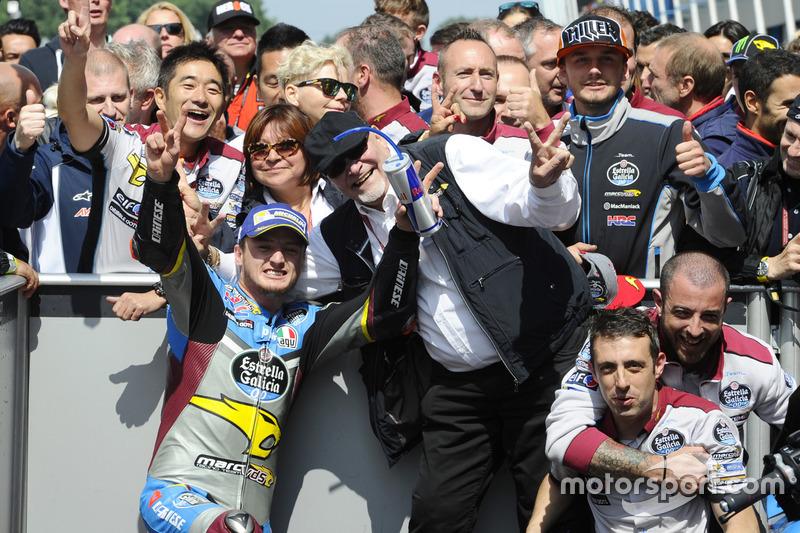 Yarış galibi Jack Miller, Marc VDS Racing Honda