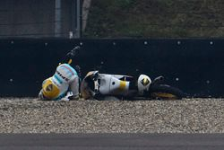 Gabriel Rodrigo, RBA Racing Team, incidente
