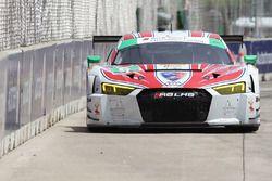 #6 Stevenson Motorsports Audi R8 LMS GT3 : Andrew Davis, Robin Liddell