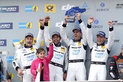 Race winnaars: #4 AMG-Team Black Falcon, Mercedes-AMG GT3: Bernd Schneider, Maro Engel, Adam Christo