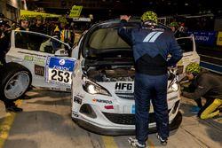 #253 Team WS Racing, Opel Astra OPC Cup: Bernhard Henzel, Stephan Kuhs, Jean-Luc Behets, Ralf Lammer