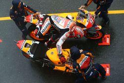 Marc Marquez, Repsol Honda Team dans la voie des stands