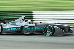 Formula E Test Jaguar Racing