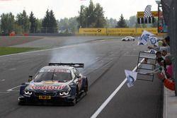 Le vainqueur Marco Wittmann, BMW Team RMG, BMW M4 DTM