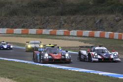 #24 Oak Racing Ligier JSP3 - Nissan: Jacques Nicolet, Pierre Nicolet; #2 United Autosports Ligier JS