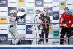 Podium: Race winner Lance Stroll, Prema Powerteam Dallara F312 - Mercedes-Benz; second place Joel Er