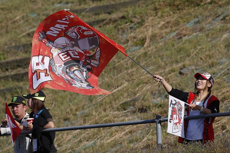 Marc Marquez, Repsol Honda Team, fan