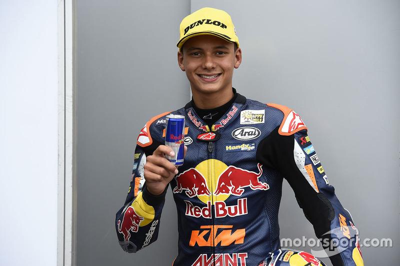 Tercera posición Bo Bendsneyder, Red Bull KTM Ajo