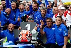 Победитель гонки Маверик Виньялес, Team Suzuki MotoGP