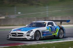 #17 IDEC SPORT RACING, Mercedes SLS AMG GT3: Patrice Lafargue, Paul Lafargue, Gabriel Abergel, Sacha