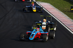 Richard Gonda, Jenzer Motorsport leads Alex Palou, Campos Racing