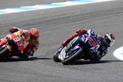 Хорхе Лоренсо, Yamaha Factory Racing и Марк Маркес, Repsol Honda Team