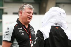 Otmar Szafnauer, COO Sahara Force India F1