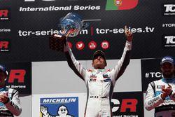 Podium: Winner Gianni Morbidelli, West Coast Racing, Honda Civic TCR