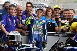 Ganador de la plole Valentino Rossi, Yamaha Factory Racing
