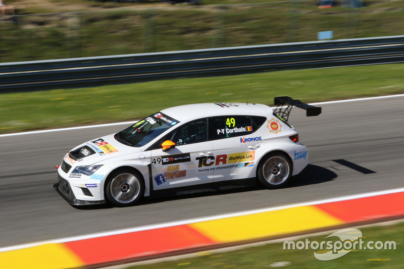 Pierre-Yves Corthals, Ferry Monster Autosport, SEAT León Cup Racer