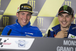 Алеш Эспаргаро, Team Suzuki MotoGP и Хохе Лоренсо, Yamaha Factory Racing