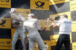 Podium: Marco Wittmann, BMW Team RMG, BMW M4 DTM and Stefan Reinhold, BMW Team RMG
