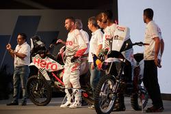 Hero MotoSports Team Rally presentación