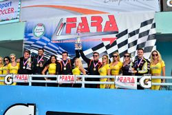 FARA Race of Champions MP3B podium