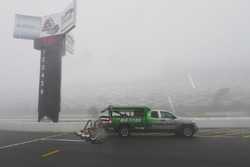 Air Titan in the rain and fog