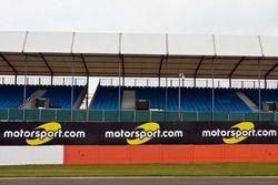 Motorsport.com signage around the track
