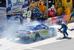 L'auto incidentata di Casey Mears, Germain Racing Chevrolet