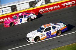 Elliott Sadler, JR Motorsports Chevrolet, Matt Tifft, Joe Gibbs Racing Toyota
